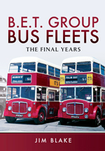"""""""B.E.T. Group Bus Fleets. The Final Years"""" (Flota de autobuses colectivos del Grupo B.E.T. Los últimos años.)"""