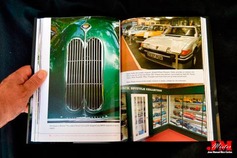 """""""Classic Car Museum Guide. Motor Cars, Motorcycles and Machinery"""" (Guía del Museo de Automóviles Clásicos. Automóviles, motocicletas y maquinaria)"""