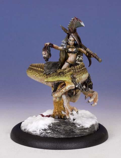 Miniaturas JM » Wargame Fantastico » Grizzel la mujer