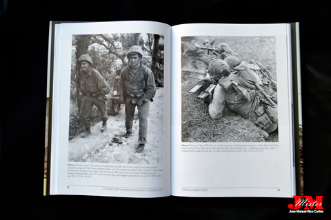 """""""US Marine Corps Uniforms and Equipment in the Second World War"""" (Uniformes y equipo de la Infantería de Marina de los Estados Unidos en la Segunda Guerra Mundial)"""