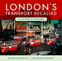 """London Transport Recalled. A Pictorial History"" (Transporte de Londres retirado del Mercado. Una historia pictórica)"