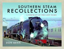 """""""Southern Steam Recollections. A Portrait of the Last Years """" (Recuerdos del vapor del sur. Un retrato de los últimos años.)"""