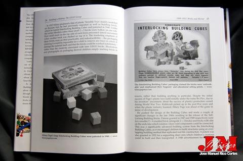 """Building a History: The Lego Group """" (La construcción de una Historia: El grupo LEGO)"""
