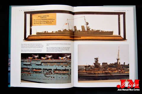 """The Life and Ship Models of Norman Ough"" (La vida de Norman Ough y sus modelos de barcos)"