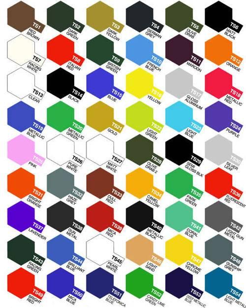 Paleta de colores pintura con nombres - Imagui