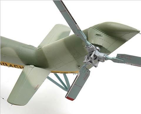 Helicoptero Mil-24 Sovietico a Scratch -  Escala 1/32.