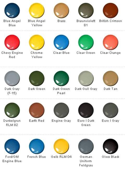 Modal title - Nombres de colores de pinturas ...