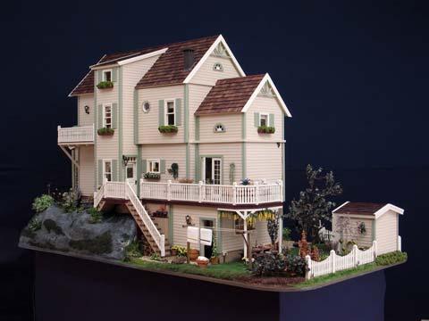 Miniaturas jm casas de mu ecas casa de mu ecas villa linda - Casa de munecas you and me ...